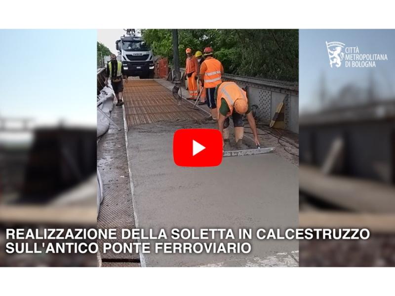 Il ponte sul Panaro Camposanto. Maggio 2020