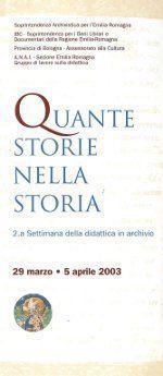 Quante storie nella storia - II Settimana della didattica in archivio
