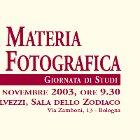 Conservare la materia dell'immagine fotografica