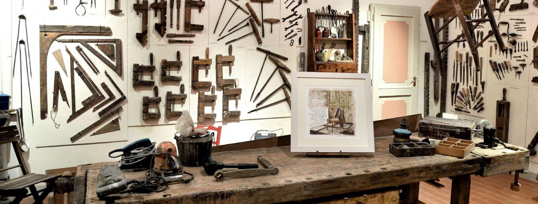 La bottega del legno della famiglia Rapparini