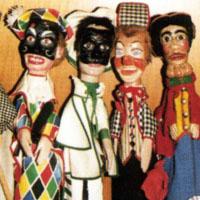 Collezione di Burattini Marionette Teatrini 'Pier Fernando Mondini'