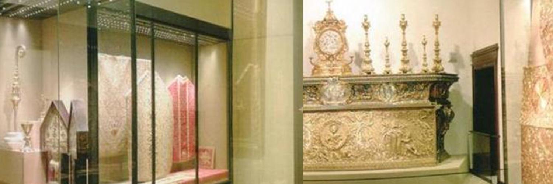 Bologna - Museo di San Pietro - Tesoro della Cattedrale -  Pastorale  Albergati (secolo XV)