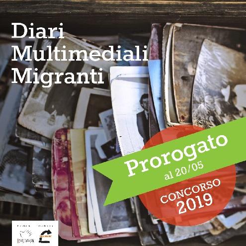 Diari Multimediali Migranti, prorogata al 20 maggio la scadenza del concorso