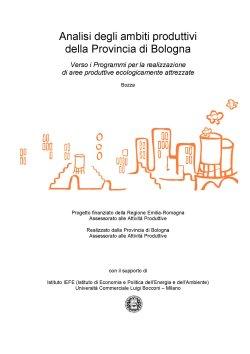 Analisi degli ambiti produttivi della provincia di Bologna