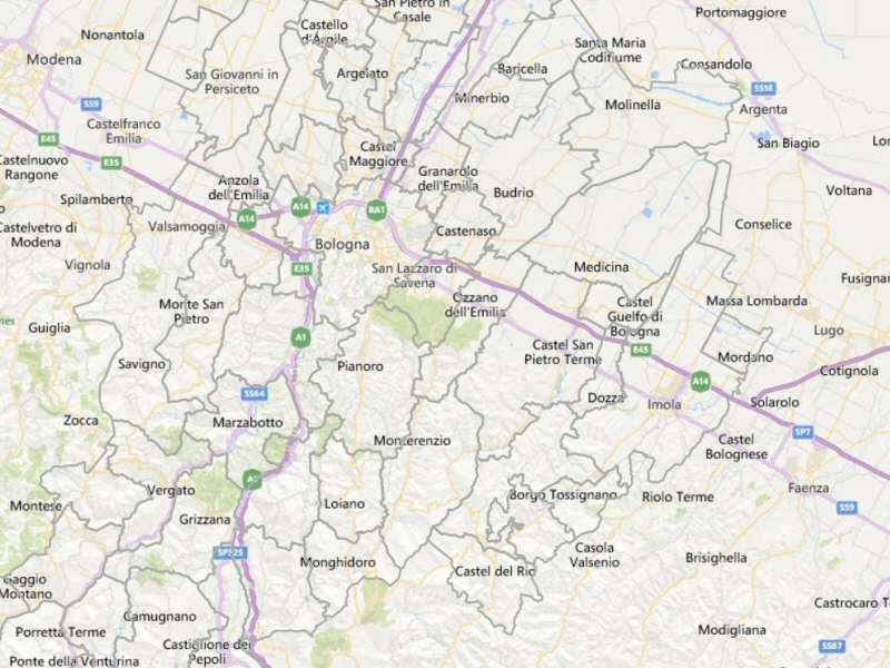 Webgis filiere produttive e servizi | Aree industriali