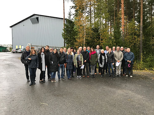 5 ° incontro internazionale del progetto CESME sull'economia circolare per le PMI nella regione Sud-Ostrobotnia in Finlandia
