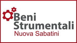 """Incentivi all'acquisto di beni strumentali (""""NUOVA SABATINI"""")"""