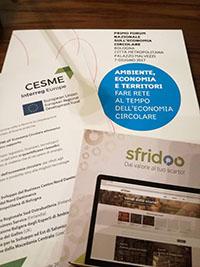 Il progetto europeo CESME al Primo Forum Nazionale sull'Economia Circolare