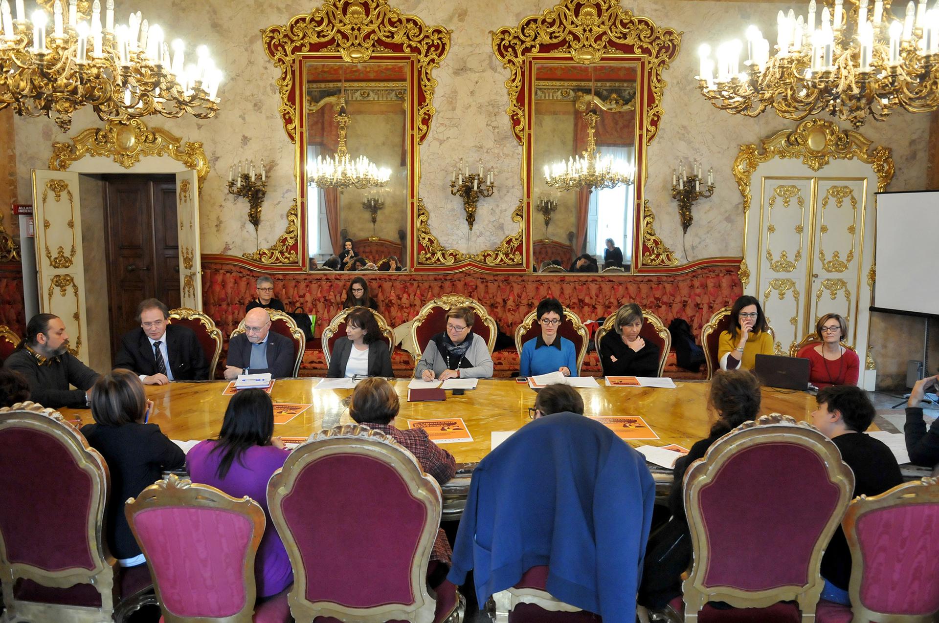 Presentazione firma del Protocollo sulla comunicazione di genere