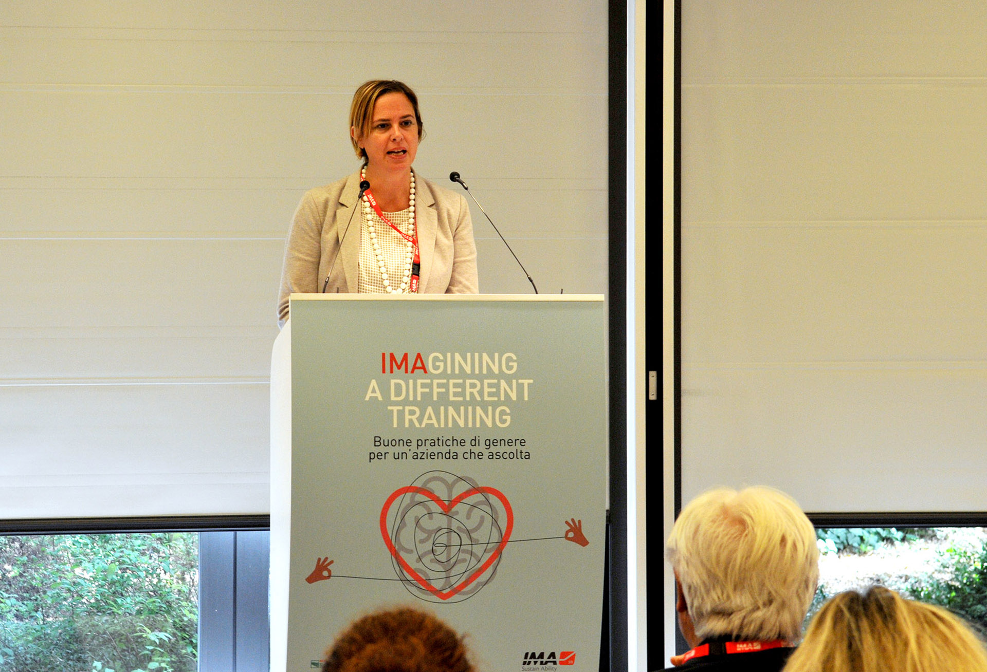 Monica Parrella, Direttrice dell'Ufficio per gli interventi in materia di parità e pari opportunità della Presidenza del Consiglio dei Ministri