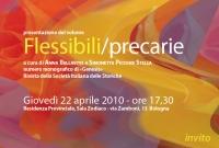 Presentazione del volume Flessibili/precarie