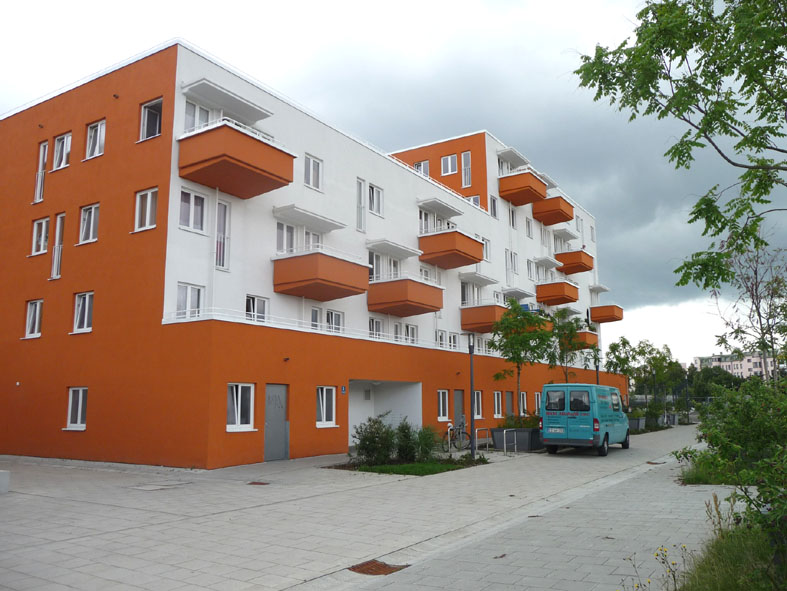 "quartiere residenziale ""Theresienhohe"""