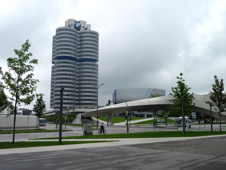 complesso BMW Welt