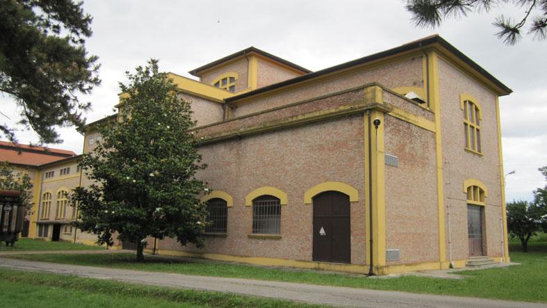 Vecchia centrale elettrica - vista esterna