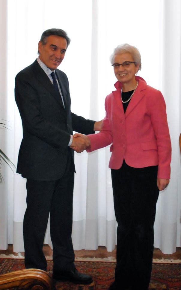 Portale - La Presidente Draghetti ha incontrato il nuovo ...