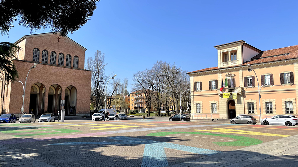 Piazza San Lazzaro di Savena - Piazza Bracci