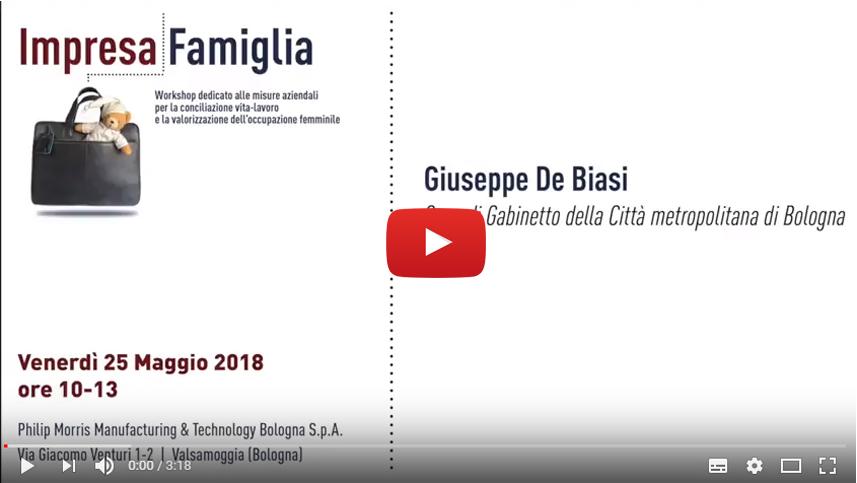 Giuseppe De Biasi, Città metropolitana di Bologna