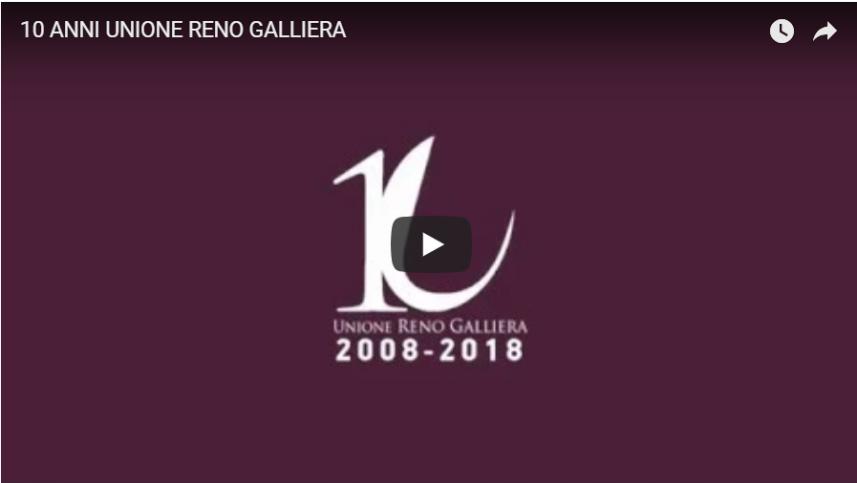 I dieci anni dell'Unione Reno Galliera