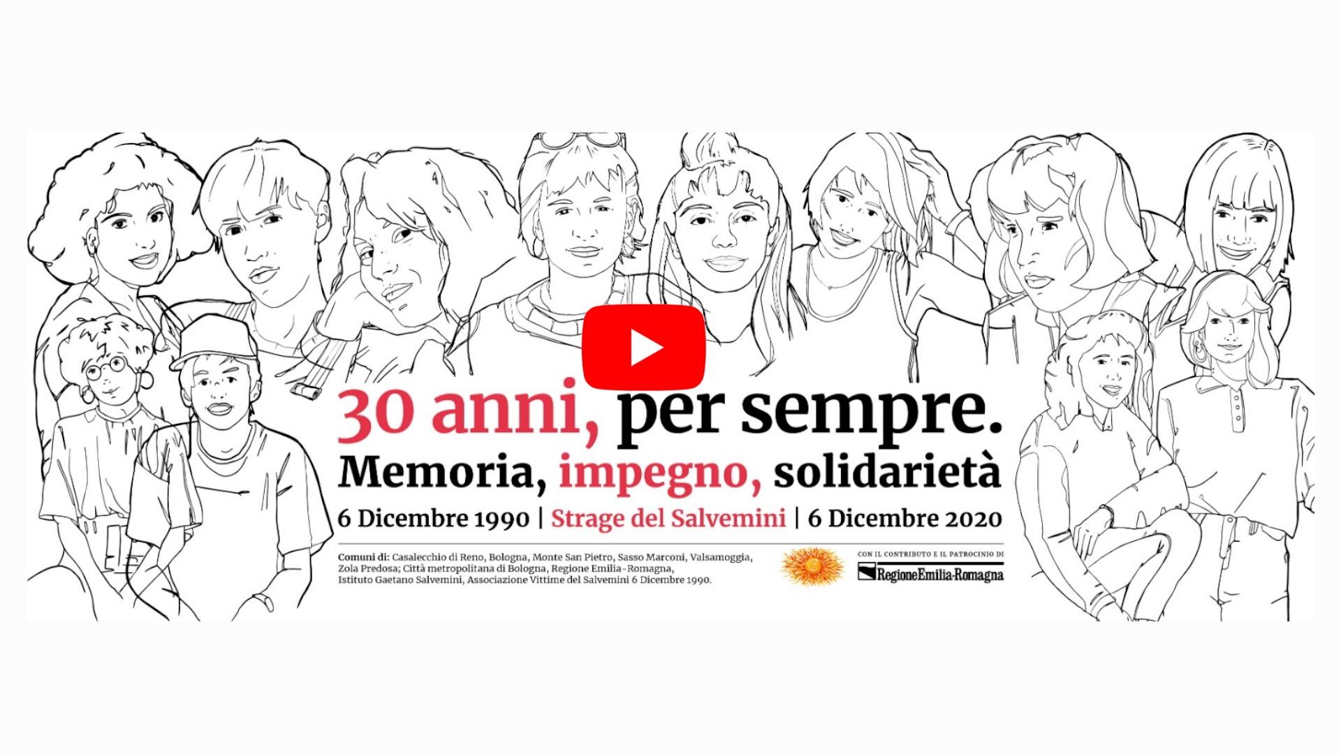 Strage del Salvemini, 30 anni per sempre: memoria, impegno, solidarietà