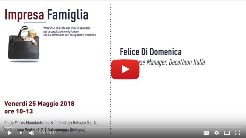 Felice Di Domenica, Decathlon Italia