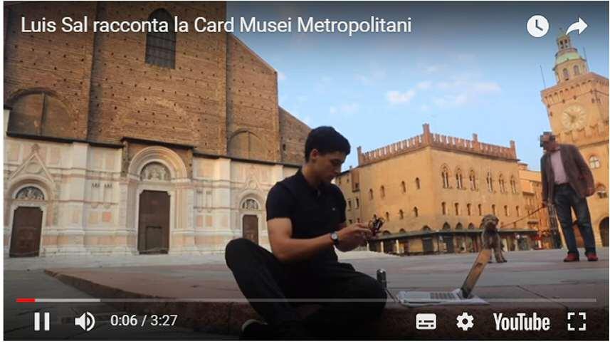 Luis Sal racconta la Card Musei Metropolitani