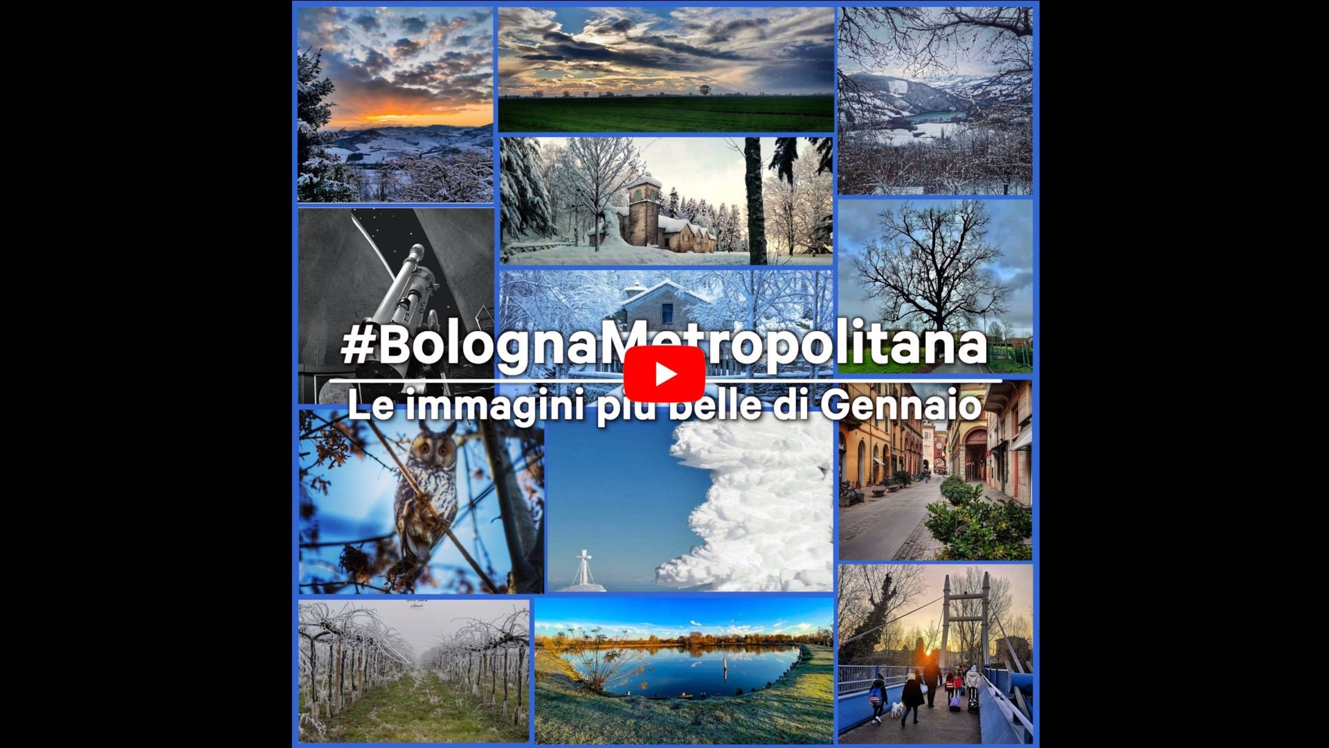 #BolognaMetropolitana - Le immagini più belle di gennaio 2021