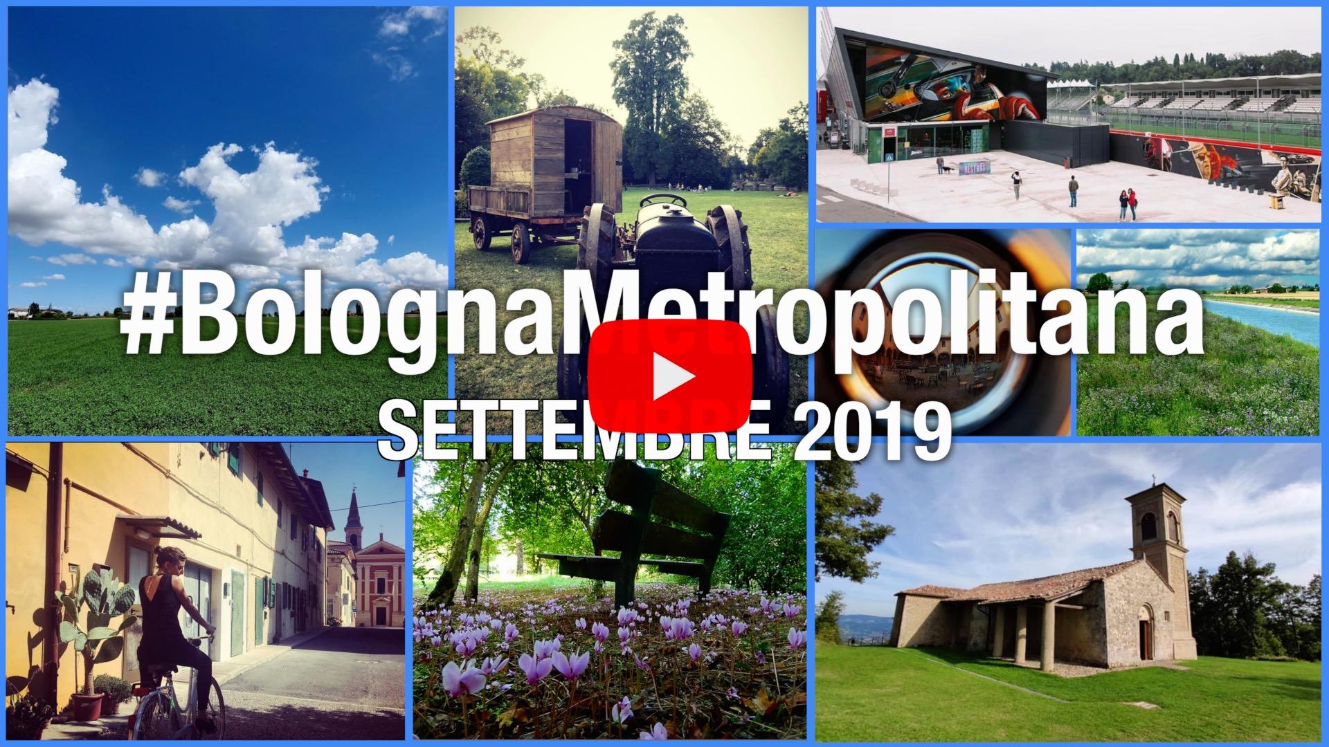 #BolognaMetropolitana - Le immagini più belle di settembre 2019