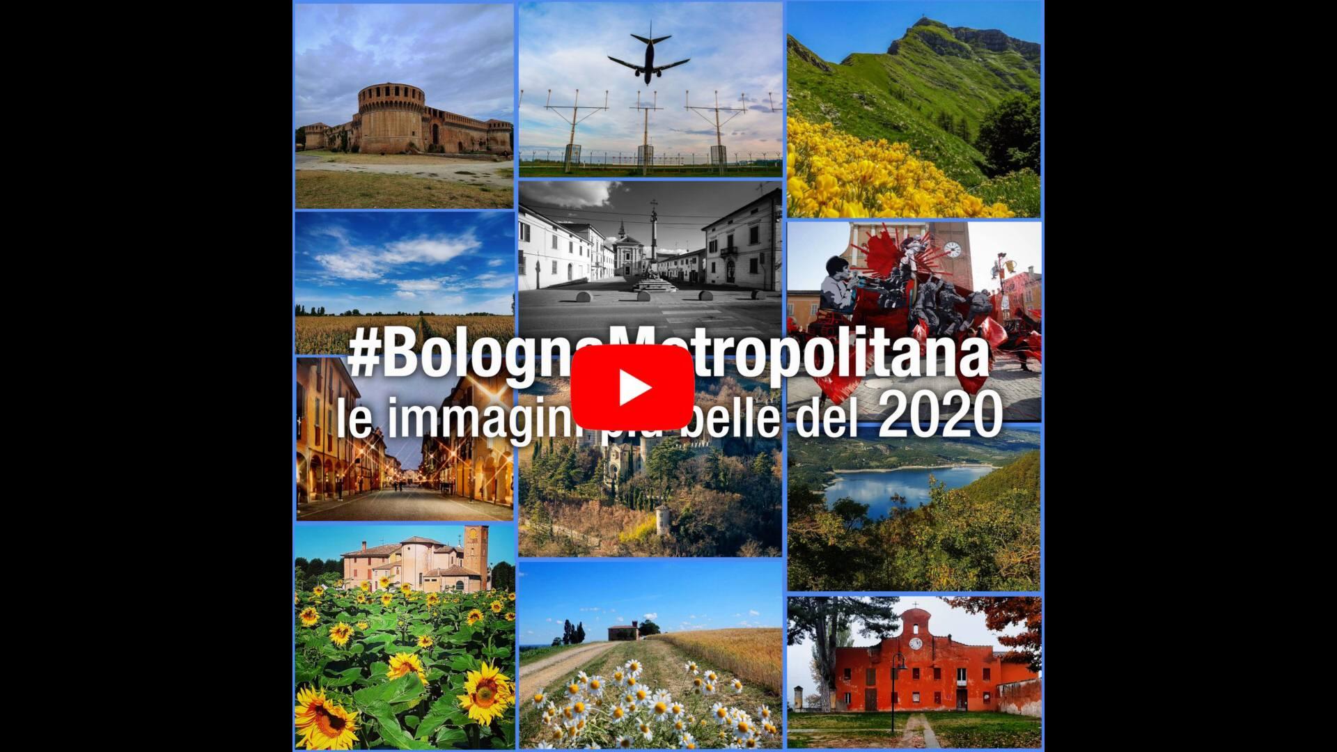 #BolognaMetropolitana - Le immagini più belle del 2020