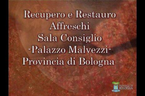 Restauri di sala Consiglio - Palazzo Malvezzi