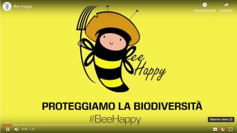 #Bee Happy. Proteggiamo la biodiversità il crowdfunding per salvare le api