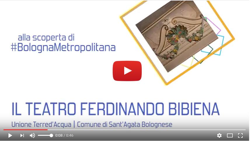"""Teatro Comunale """"Bibiena"""" di Sant'Agata Bolognese"""