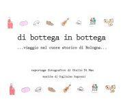 Di bottega in bottega - viaggio nel cuore storico di Bologna