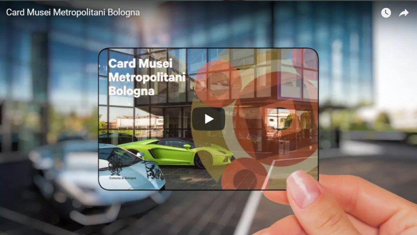 Card Musei Metropolitani Bologna