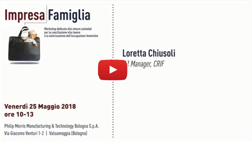 Loretta Chiusoli, CRIF