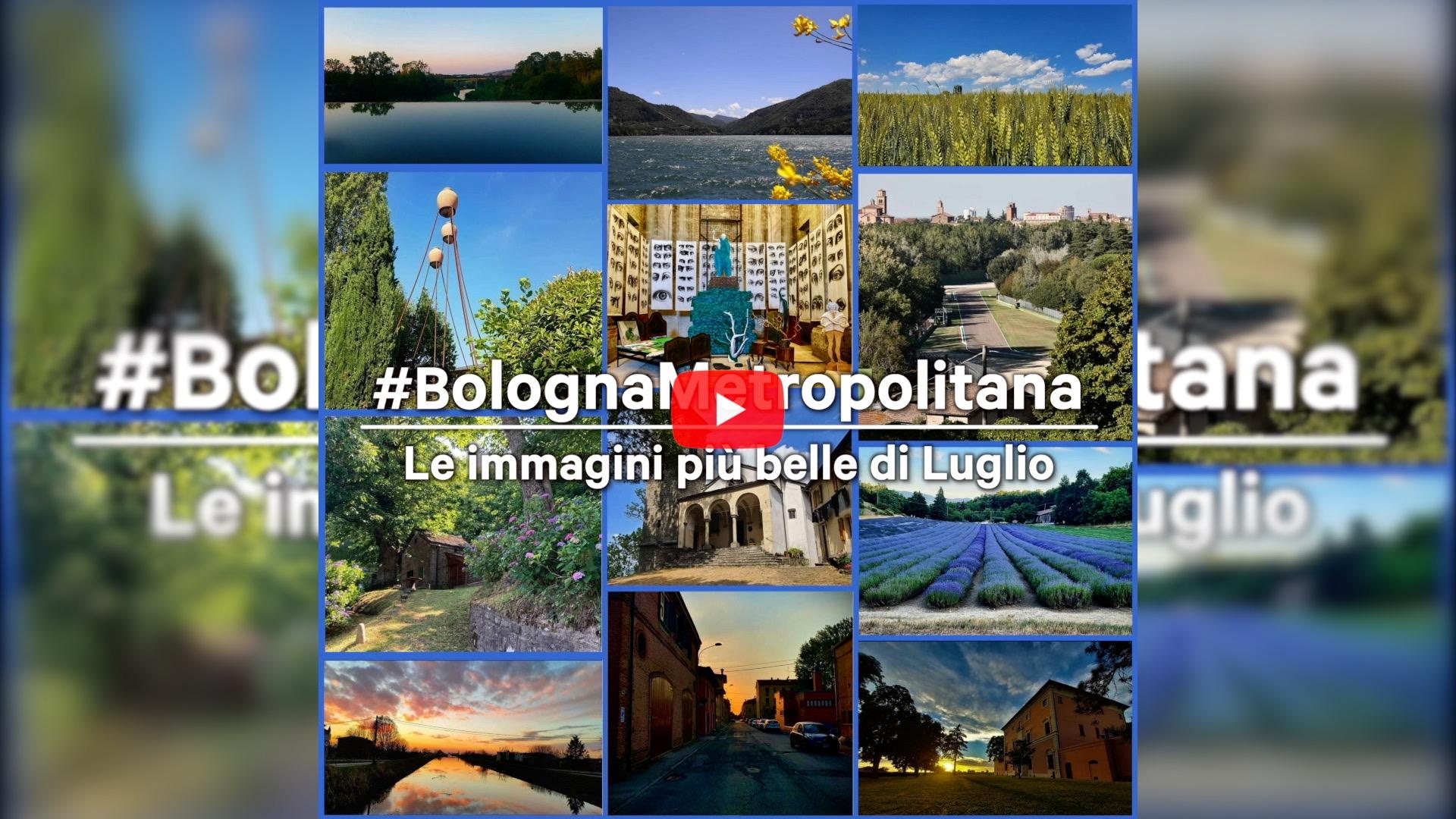 #BolognaMetropolitana - Le immagini più belle di luglio 2021