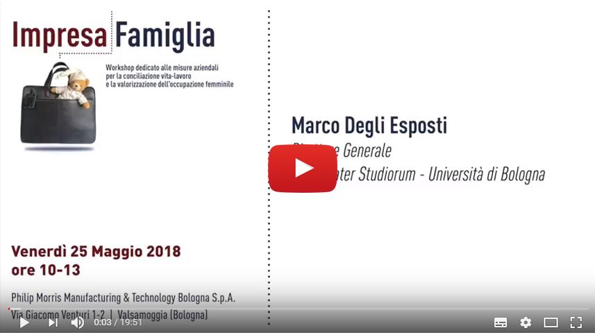 Marco Degli Esposti, Alma Mater Studiorum - Università di Bologna