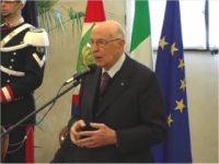 Discorso del Presidente della Repubblica, Giorgio Napolitano