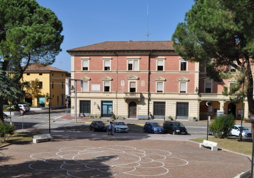 Piazza di Granarolo dell'Emilia