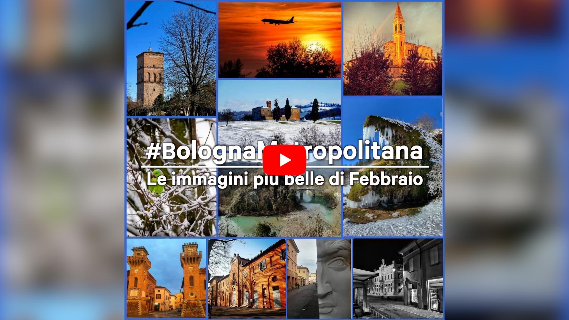 #BolognaMetropolitana - Le immagini più belle di febbraio 2021