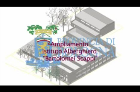 """I lavori all'Istituto alberghiero """"Bartolomeo Scappi"""" di Casalecchio"""