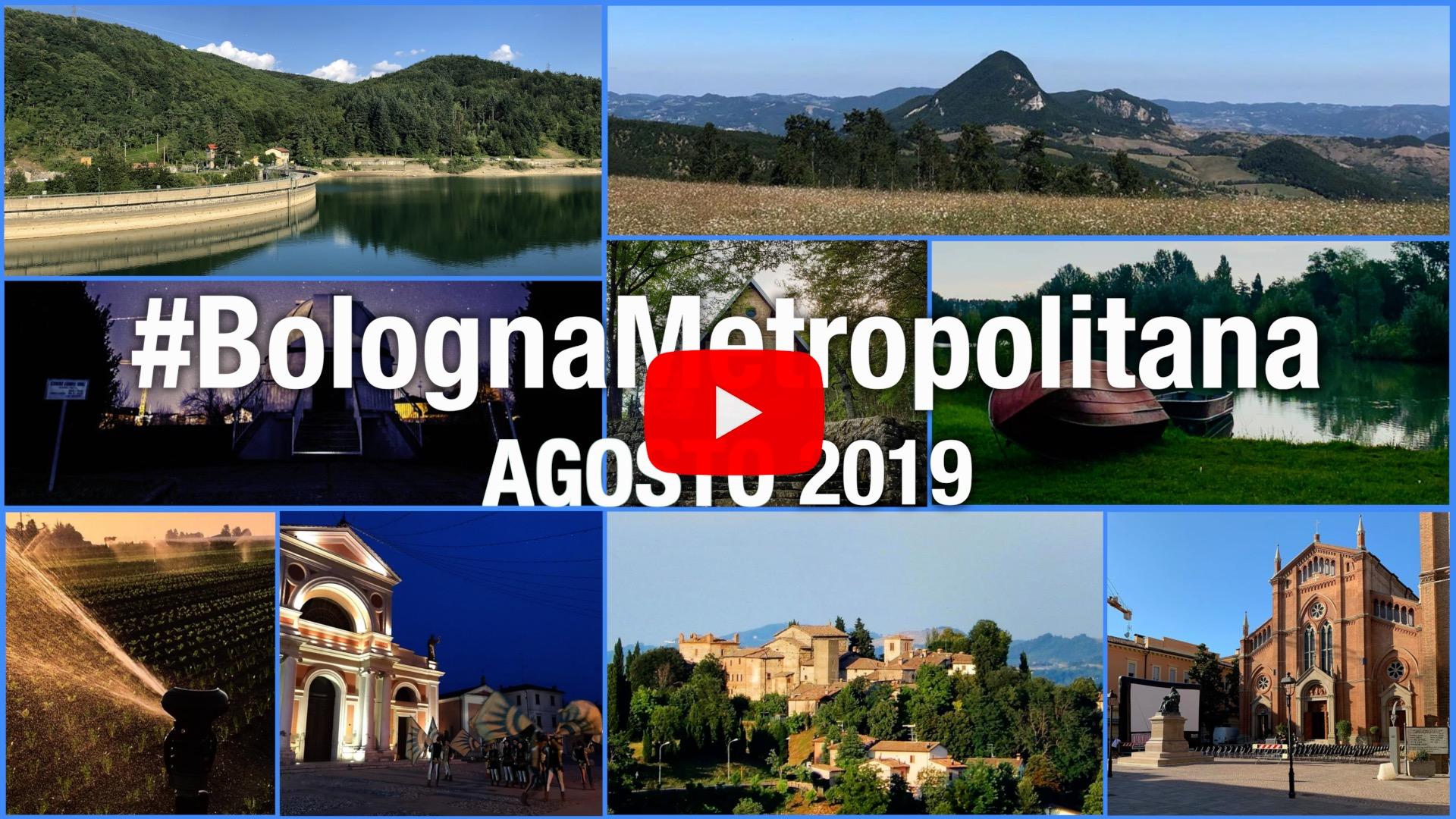 #BolognaMetropolitana - Le immagini più belle di agosto 2019