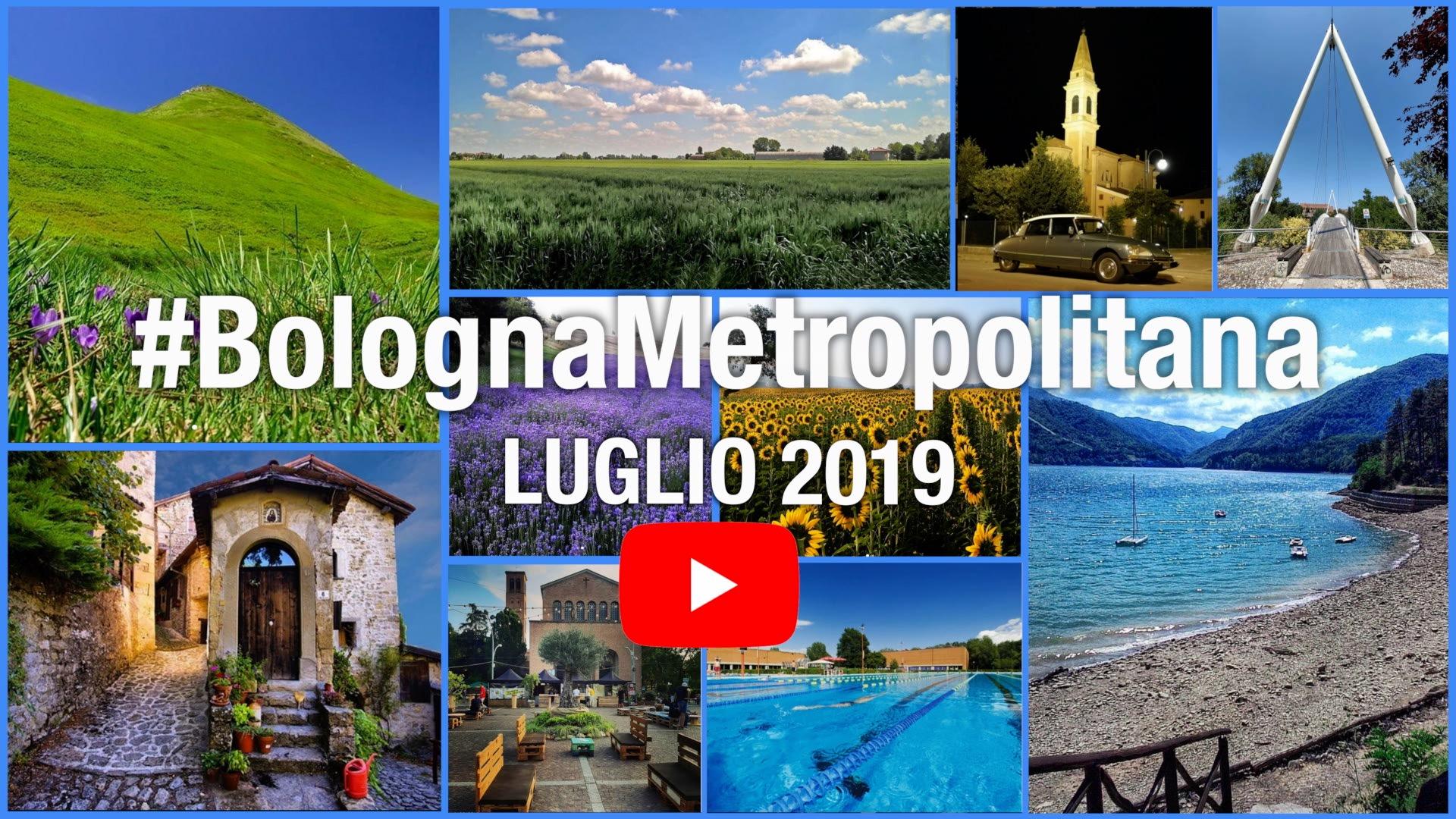 #BolognaMetropolitana - Le immagini più belle di luglio 2019