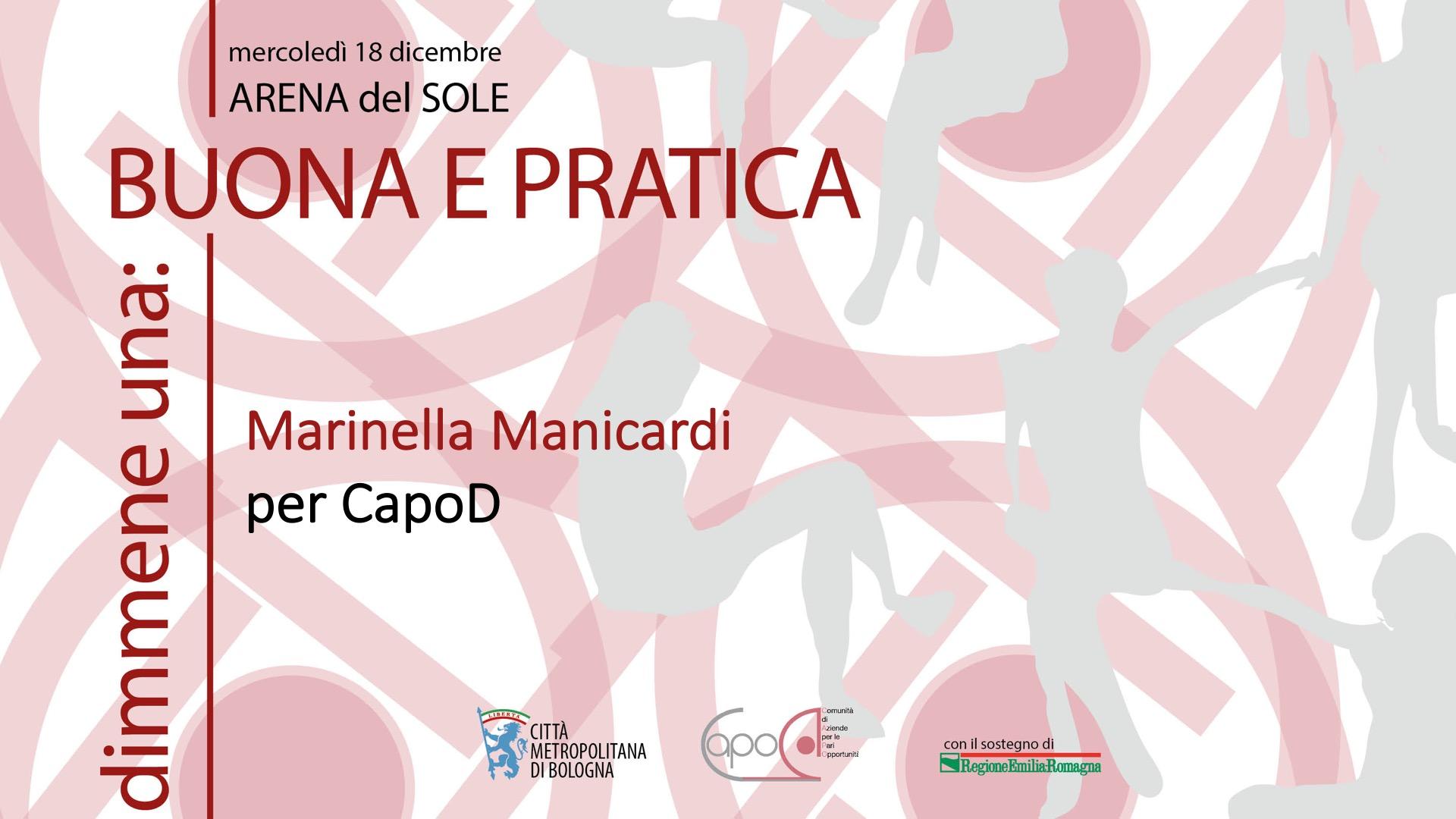 Monologo di Marinella Manicardi
