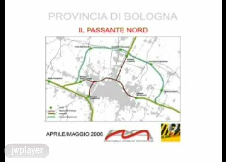 Passante Nord: simulazione grafica del progetto