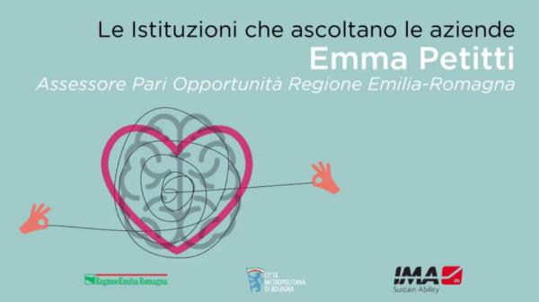 Emma Petitti, Regione Emilia-Romagna