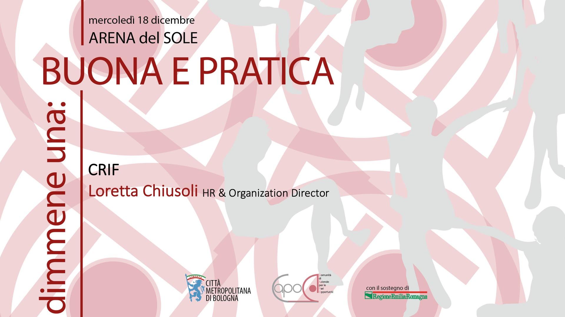 Loretta Chiusoli - CRIF