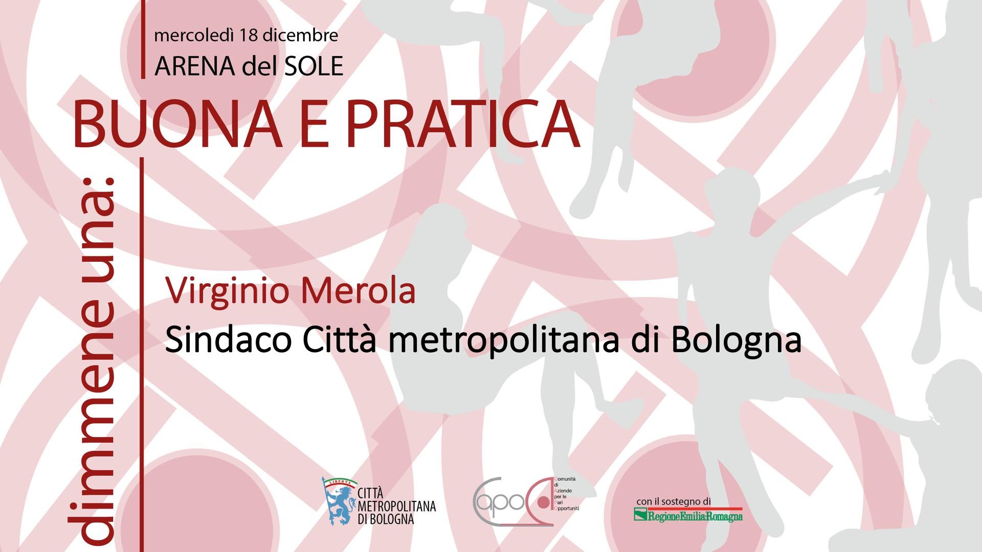 Virginio Merola - Sindaco Città metropolitana di Bologna