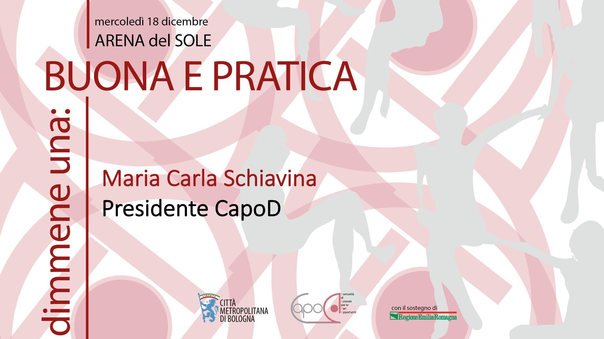 Maria Carla Schiavina - Presidente Capo D