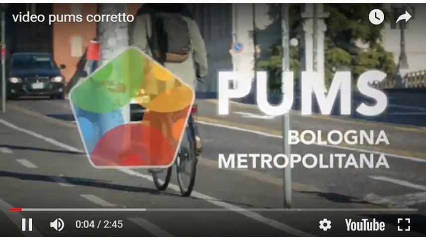 PUMS - Piano Urbano della Mobilità Sostenibile di Bologna Metropolitana