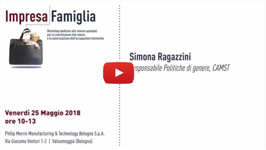 Simona Ragazzini, CAMST